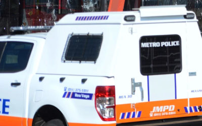 AK-47, rifle, pistol and ammunition recovered from hijacked vehicle in Joburg